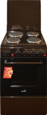Плита электрическая Cezaris ЭП НД 1000-00 (коричневый)