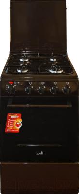 Плита газовая Cezaris ПГЭ 1000-03 (коричневый)