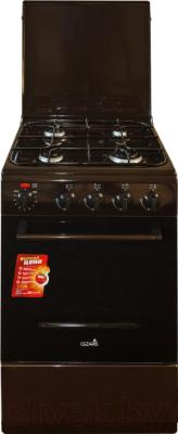 Плита газовая Cezaris ПГЭ 1000-05 (коричневый)
