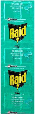 Наполнитель для фумигатора Raid Пластины против комаров Эвкалипт (10шт) - общий вид