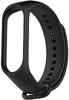 Ремешок для фитнес-трекера Xiaomi Mi Band strap 3 (черный) -