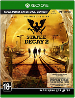 Игра для игровой консоли Microsoft Xbox One State of Decay 2 Ultimate (KZN-00020) -