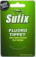 Леска флюорокарбоновая Sufix Fluoro Tippet 0.158мм / DS1IL017024A3F (25м, прозрачный) -