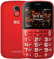 Мобильный телефон BQ Comfort BQ-2441 (красный/черный) -