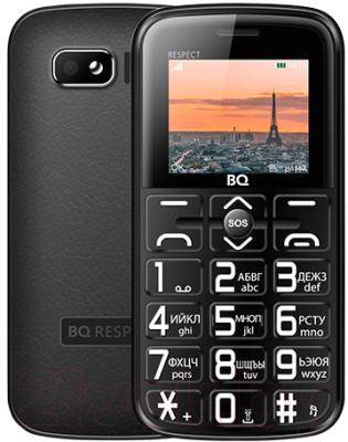 Мобильный телефон BQ Respect BQ-1851 (черный)
