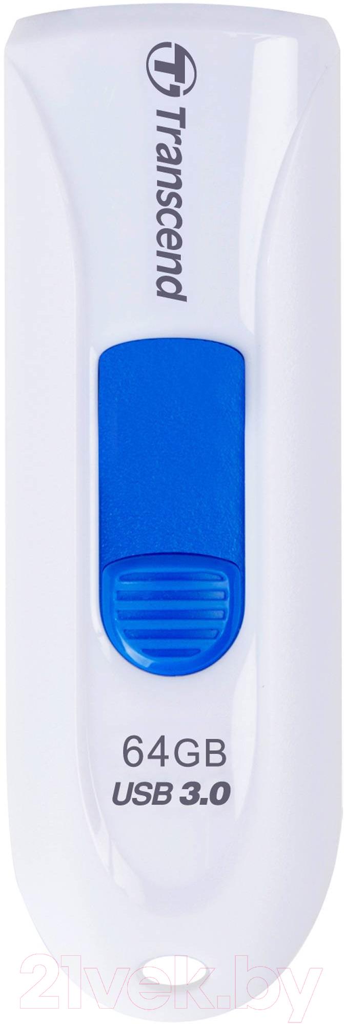 Купить Usb flash накопитель Transcend, JetFlash 790 64GB (TS64GJF790W), Китай