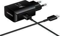 Зарядное устройство сетевое Samsung EP-TA300CBEGRU (черный) -