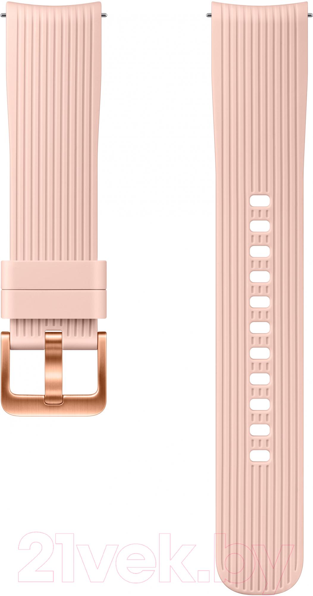 Купить Ремешок для умных часов Samsung, Galaxy Watch / ET-YSU81MPEGRU (розовый), Россия