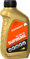 Моторное масло PATRIOT Supreme HD SAE 30 4T (592мл) -