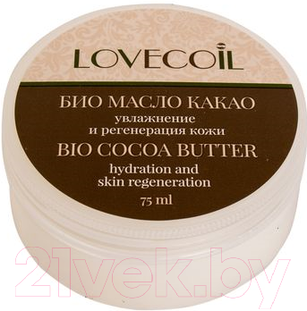 Купить Масло для тела LovEcOil, Leo Био масло какао увлажнение и регенерация кожи (75мл), Россия