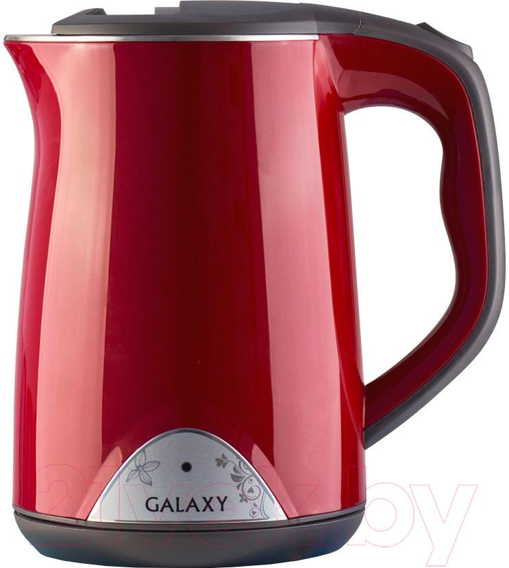 Купить Электрочайник Galaxy, GL 0301 (красный), Китай