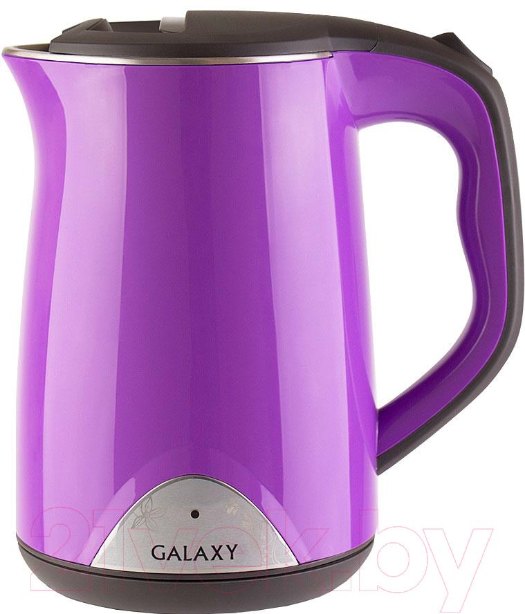 Купить Электрочайник Galaxy, GL 0301 (фиолетовый), Китай