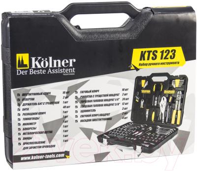 Универсальный набор инструментов Kolner KTS 123 -