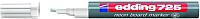 Маркер для доски Edding E-725-049 (неоновый белый) -