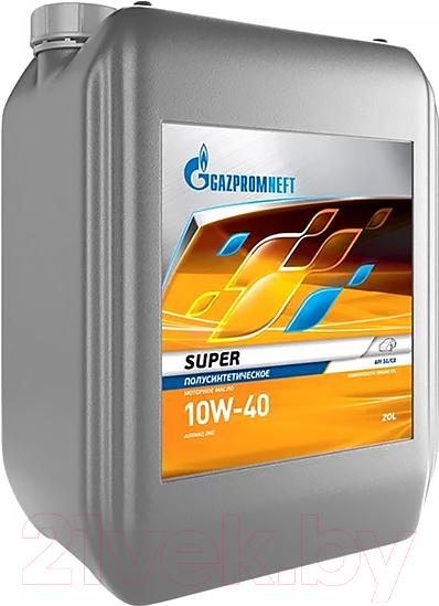 Купить Моторное масло Gazpromneft, Super 10W40 / 253142144 (20л), Россия