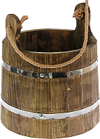 Ведро деревянное Добропаровъ Емеля 1335452 (10л) -