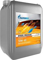 Моторное масло Gazpromneft Diesel Premium 10W40 / 253141969 (20л) -