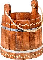 Ведро деревянное Добропаровъ Емеля 1444574 (10л) -