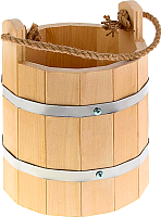 Ведро деревянное Добропаровъ Емеля 1185389 (5л) -