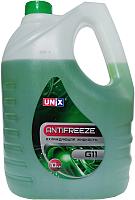 Антифриз Unix G11 -35С (10кг, зеленый) -