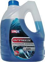 Антифриз Unix G11 -35С (5кг, синий) -