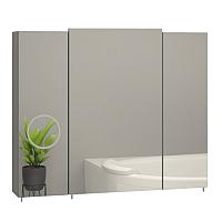 Шкаф с зеркалом для ванной Sanwerk Everest Zoom 80 / MV0000744 -