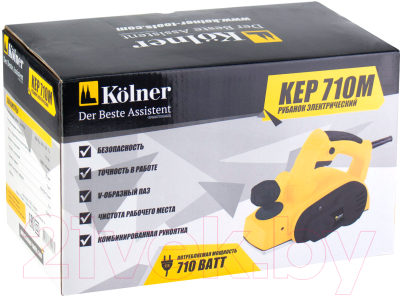 Электрорубанок Kolner KEP 710М