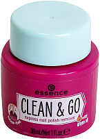 Жидкость для снятия лака Essence Clean & Go (30мл) -