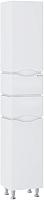 Шкаф-пенал для ванной Sanwerk Alessa 35 R 4F / MV0000349 (белый) -