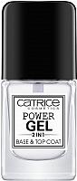 Топовое покрытие для лака Catrice Power Gel 2in1 Base & Top Coat 2 в 1 -