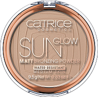 Бронзер Catrice Sun Glow матирующая с эффектом загара тон 030 (9.5г) -