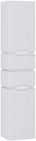 Шкаф-пенал для ванной Sanwerk Alessa Air 35 R 4F K / MV0000371 (белый) -