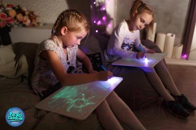 Набор для творчества Amy & Benton Рисуй светом А4