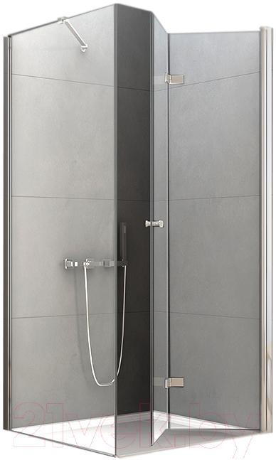 Купить Душевой уголок New Trendy, New Soleo R D-0153A/D-0088B (90x90x195), Польша