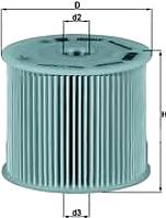 Топливный фильтр Knecht/Mahle KX85D -