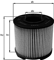 Топливный фильтр Knecht/Mahle KX87D -