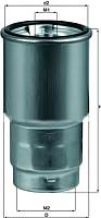 Топливный фильтр Knecht/Mahle KC100D -