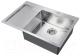 Мойка кухонная ZorG R-7851 R Inox -