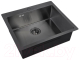 Мойка кухонная ZorG PVD-5951 (графит) -