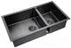 Мойка кухонная ZorG PVD-78-2-44 (графит) -