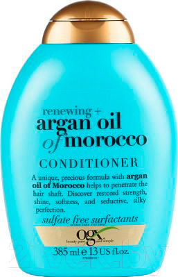 Купить Кондиционер для волос OGX, Восстанавливающий с аргановым маслом Марокко (385мл), Великобритания, Argan oil of Morocco (OGX)
