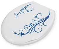 Сиденье для унитаза Berossi АС 15801030 (белый, вьюн) -
