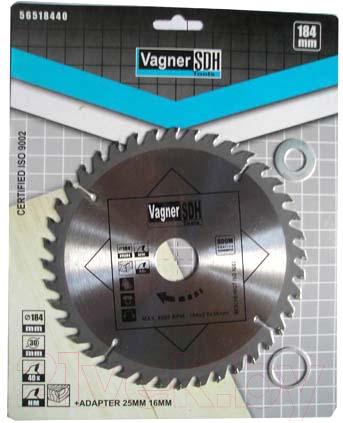 Купить Пильный диск Vagner, 51005302, Китай