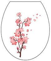 Сиденье для унитаза Berossi АС 15801080 (белый, сакура) -
