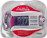 Комплект проводов для автоакустики AURA AMP-0410 -