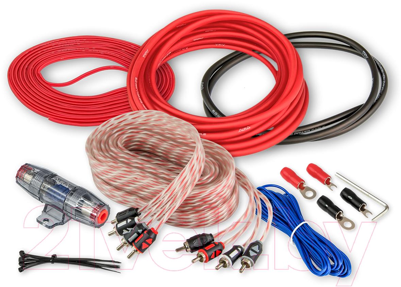 Купить Комплект проводов для автоакустики AURA, AMP-2410, Китай