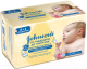 Влажные салфетки Johnson's Baby От макушки до пяточек (224шт) -
