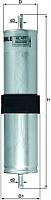 Топливный фильтр Knecht/Mahle KL477 -