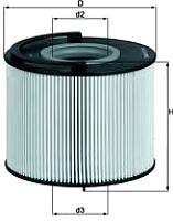 Топливный фильтр Knecht/Mahle KX192D -