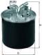 Топливный фильтр Knecht/Mahle KL447 -